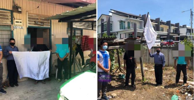 13 keluarga ini diugvt akan disam4n RM50,000 jika tetap kibarkan bendera putih – Oh Trending