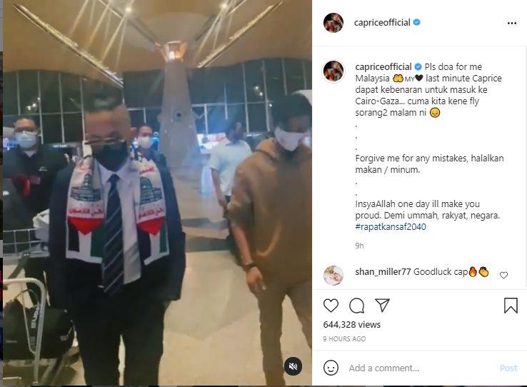 """2 Hero Malaysia Bertemu""- Ntizen Teruja Caprice Akhirnya jumpa Ustaz Ebit Lew"