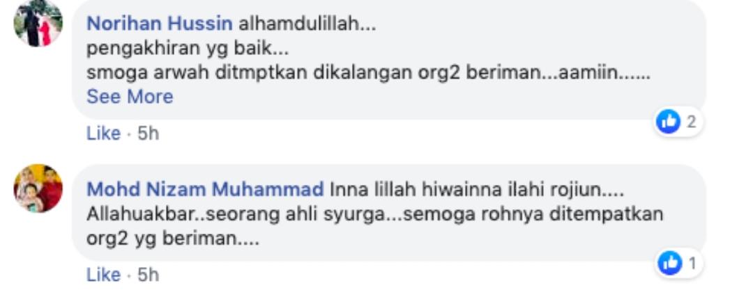 Baru Semalam Memeluk Islam, Hari Ini Telah Dijemput Ilahi. Pengakhiran Yg Dicemburui Ramai