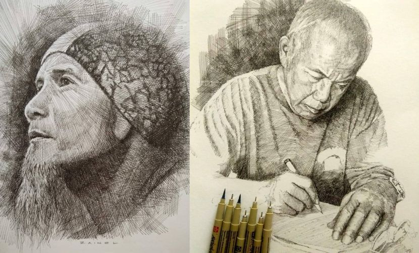 Potret kanak-kanak menangis atas pinggan bikin ramai sayu, pelukis dedah kisah di sebalik 'nasi berlaukkan kicap'