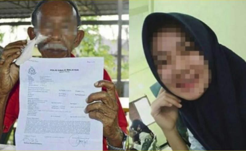 Kec3wa Cinta Diperm4inkan Gadis 16 Tahun, Atuk Bvat Rep0rt P0lis
