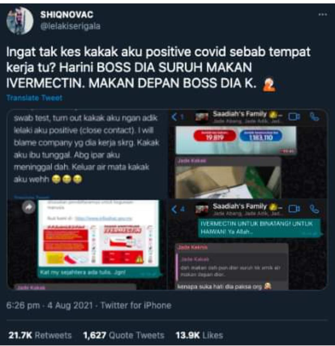 Majikan Tak Mau Tutup Tempat Kerja, Pksa Staf TeIan lVERMACTlN Depan Bos