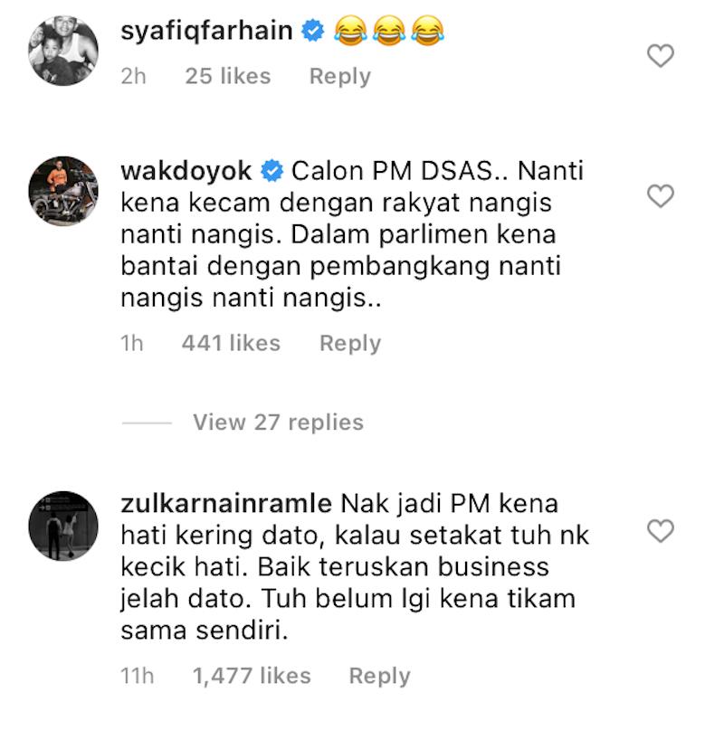 Niat nak jadi PM dipertikai, Aliff Syukri 'koyak' merajuk dengan Zizan Razak