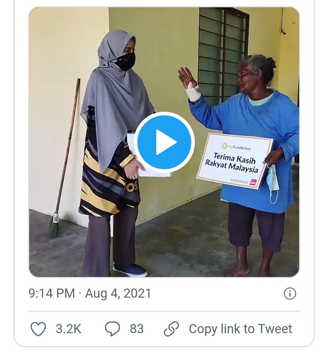 Video: Hanya Berbekalkan Nasi Lauk Garam, Sampai Hati Bagi Upah RM10 Cuci 2 Rumah