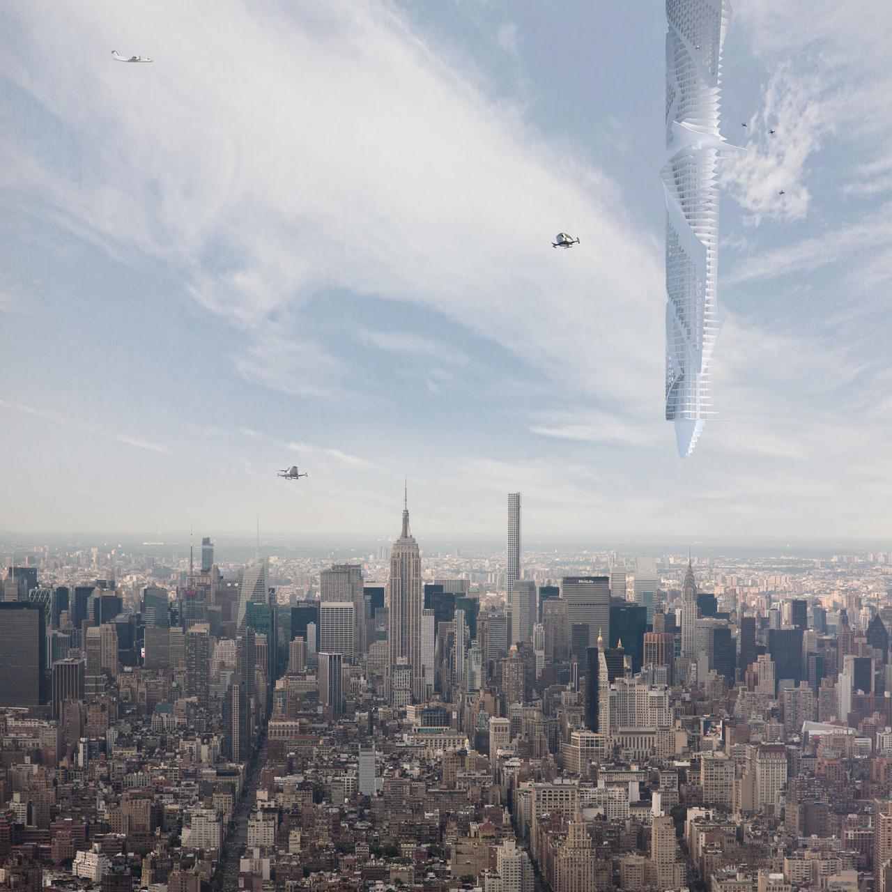 Dubai Bakal Bina Menara Tergantung Di Langit? Kaedah Nak Jadikan Kenyataan Seakan Tak Logik
