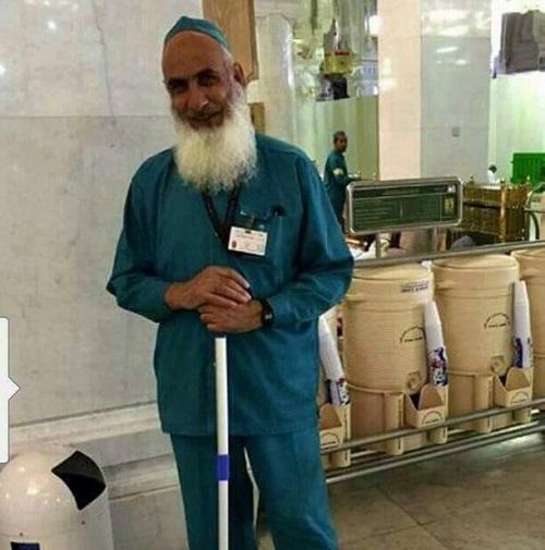 Inilah Dia Multi Millionaire Yang Memiliki Banyak Hotel Di India Dan Bertugas Sebagai Tukang Cuci Di Masjidil Haram. Sungguh Hebat Pekerti Mu