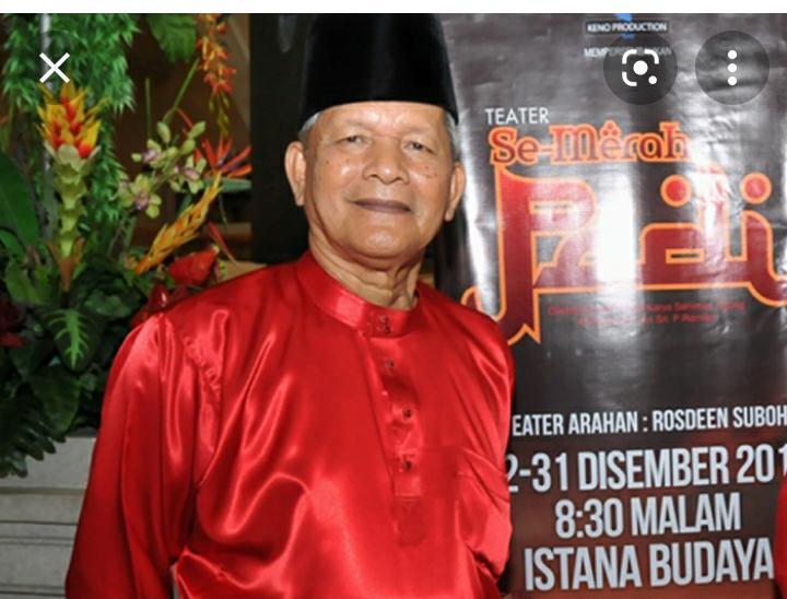 Kabar Duka Pelakon Veteran Dato Haji Baharudin Omar Meninggal Dunia Sebentar Tadi